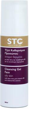 STC Face gel limpiador para pieles grasas