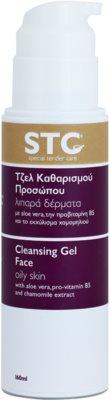 STC Face gel limpiador para pieles grasas 1
