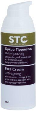 STC Face verjüngende Creme für Gesicht, Hals und Dekolleté 1