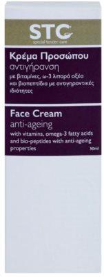 STC Face verjüngende Creme für Gesicht, Hals und Dekolleté 3