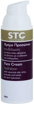 STC Face creme hidratante e apaziguador para pele oleosa e problemática 1