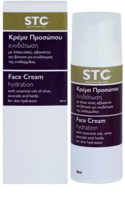 STC Face hydratisierende und beruhigende Creme für fettige und problematische Haut 2