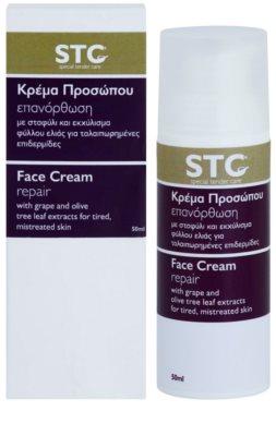 STC Face интензивно възстановяващ крем за уморена кожа 2