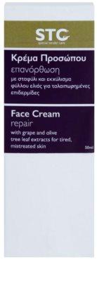 STC Face интензивно възстановяващ крем за уморена кожа 3