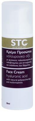 STC Face crema pentru fata cu efect de intinerire cu acid hialuronic