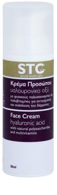 STC Face creme facial rejuvenescedor com ácido hialurônico com ácido hialurónico