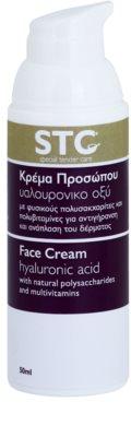 STC Face crema pentru fata cu efect de intinerire cu acid hialuronic 1
