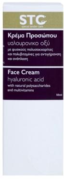 STC Face crema pentru fata cu efect de intinerire cu acid hialuronic 3