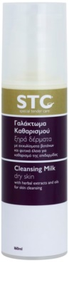 STC Face почистващо мляко за суха кожа