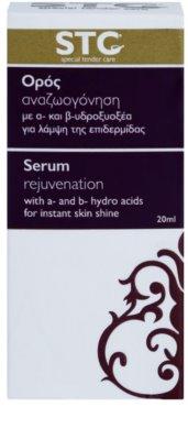 STC Face sérum rejuvenescedor para pele radiante 3