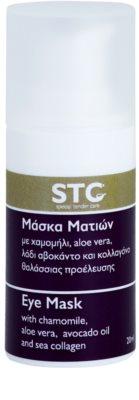 STC Face nyugtató és hidratáló maszk szemre