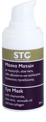 STC Face máscara hidratante e apaziguadora  para olhos 1