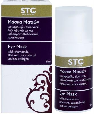 STC Face pomirjevalna in vlažilna maska za oči 2