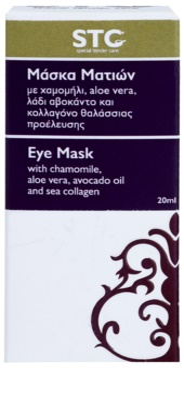 STC Face máscara hidratante e apaziguadora  para olhos 3