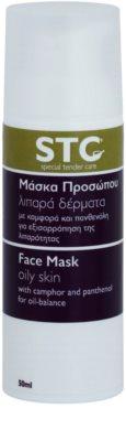 STC Face Maske für fettige Haut mit Neigung zu Akne