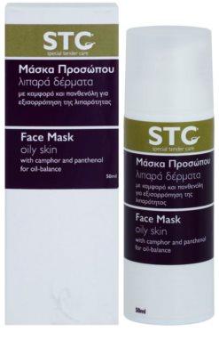 STC Face маска  за мазна кожа склонна към акне 2