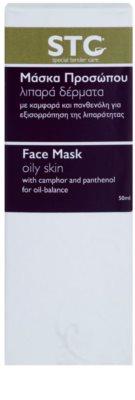 STC Face maszk az aknéra hajlamos zsíros bőrre 3