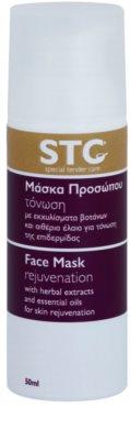 STC Face pomlajevalna maska za obraz, vrat in dekolte