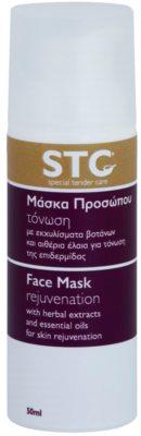STC Face verjüngende Maske für Gesicht, Hals und Dekolleté