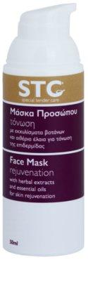 STC Face omladzujúca maska na tvár, krk a dekolt 1