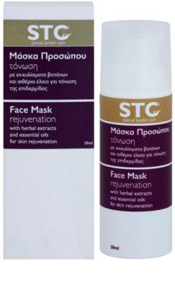 STC Face omladzujúca maska na tvár, krk a dekolt 2