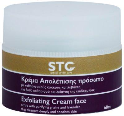 STC Face exfoliační peelingový krém