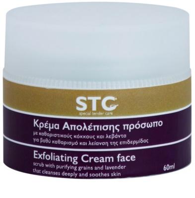 STC Face відлущуючий крем-пілінг