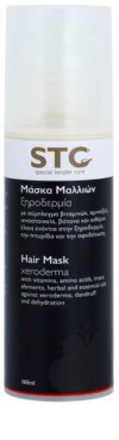 STC Hair Máscara hidratante para o cabelo anti-caspa