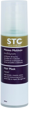 STC Hair máscara renovadora para cabelo danificado
