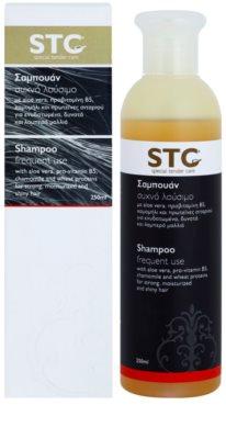 STC Hair champú para lavar el cabello con frecuencia 1