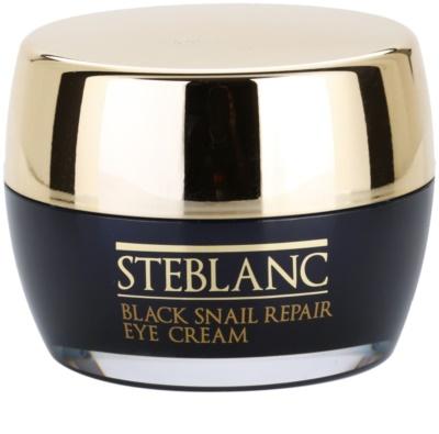 Steblanc Black Snail Repair creme de olhos com extrato de caracol