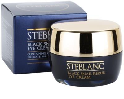 Steblanc Black Snail Repair oční krém s hlemýždím extraktem 3