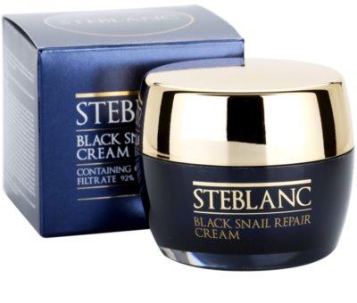 Steblanc Black Snail Repair creme regenerador   para pele cansada 3
