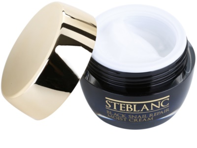 Steblanc Black Snail Repair поживний крем зі зволожуючим ефектом 1
