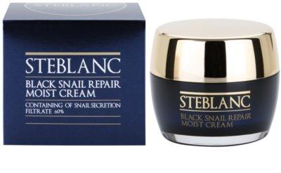 Steblanc Black Snail Repair поживний крем зі зволожуючим ефектом 2