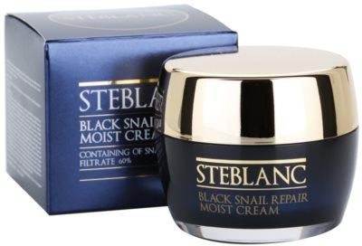 Steblanc Black Snail Repair поживний крем зі зволожуючим ефектом 3