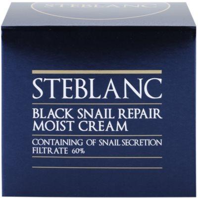 Steblanc Black Snail Repair поживний крем зі зволожуючим ефектом 4