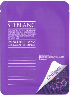 Steblanc Essence Sheet Mask Collagen maszk a bőr feszességéért