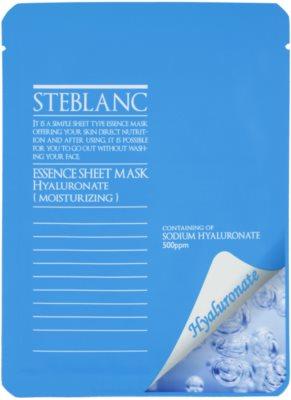 Steblanc Essence Sheet Mask Hyaluronate maska za intenzivno hidracijo
