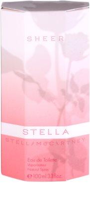 Stella McCartney Stella Sheer 2009 eau de toilette para mujer 4