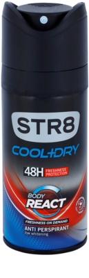 STR8 Cool & Dry Body React deo sprej za moške