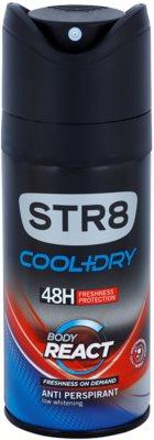 STR8 Cool & Dry Body React deospray pentru barbati
