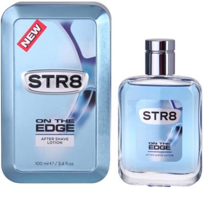 STR8 On the Edge after shave pentru barbati