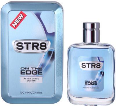 STR8 On the Edge borotválkozás utáni arcvíz férfiaknak