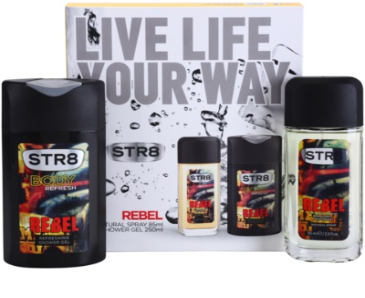 STR8 Rebel lote de regalo