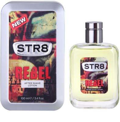 STR8 Rebel loción after shave para hombre