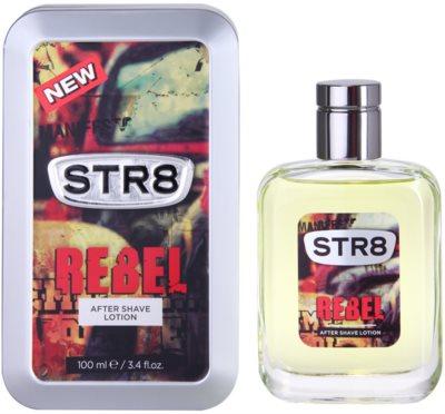 STR8 Rebel voda po holení pre mužov