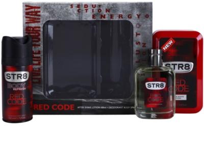 STR8 Red Code dárková sada 2