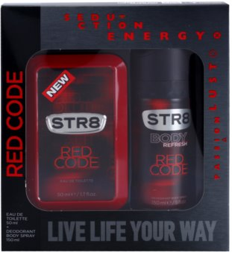 STR8 Red Code ajándékszett