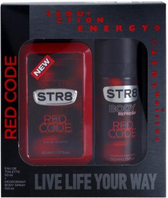 STR8 Red Code darčeková sada